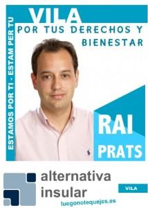 Rai Prats Candidato Vila 2015