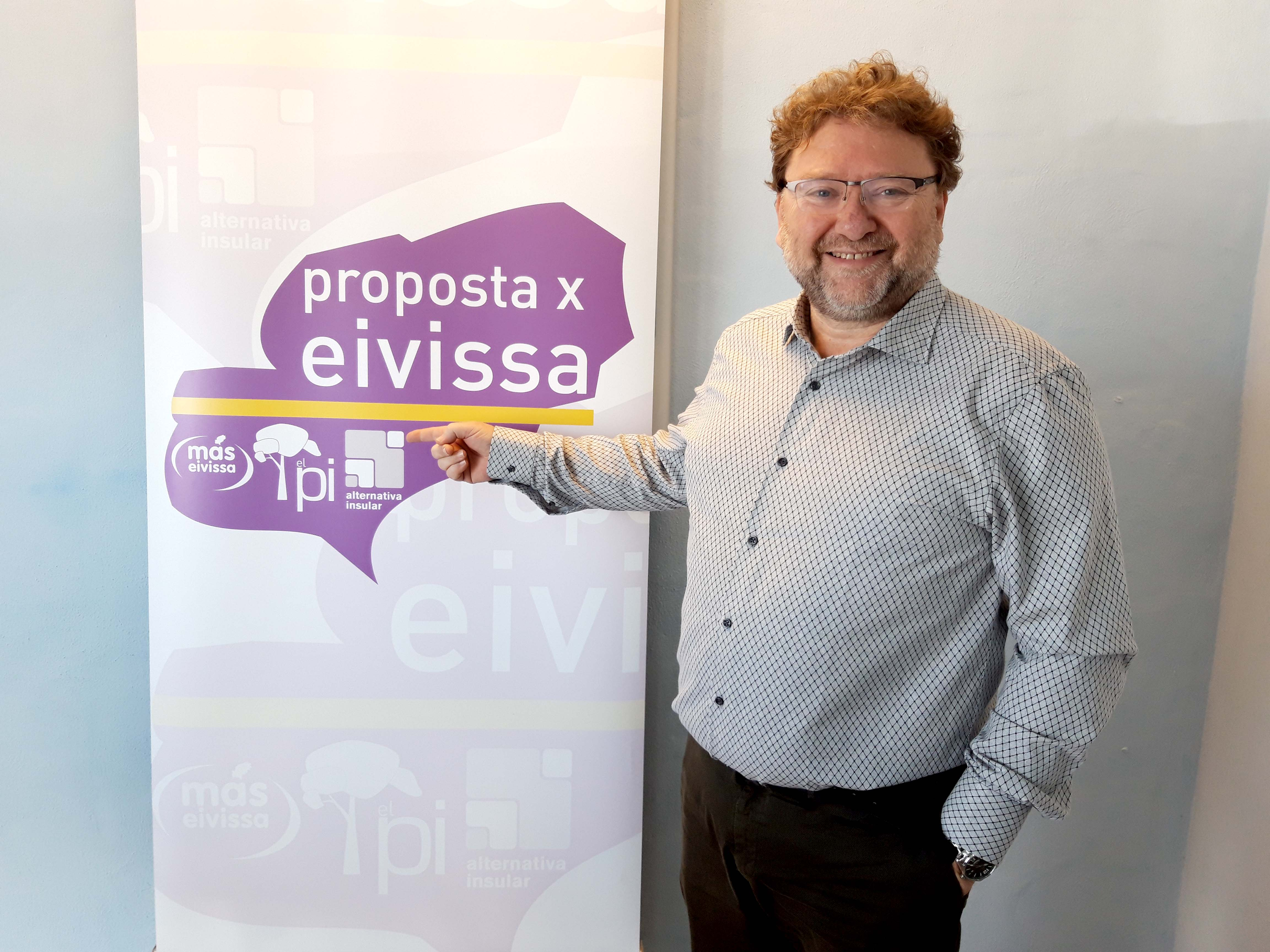 Vicent Jordi, Candidato a la Alcaldía de Sant Josep de sa Talaia por PxE