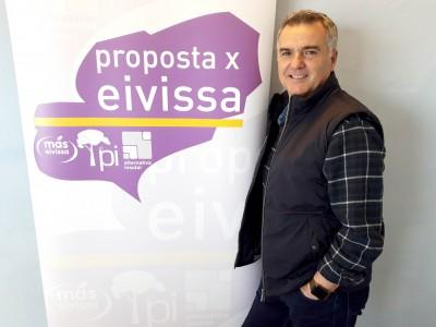 Toni Roldán candidato PxE ayuntamiento de Vila