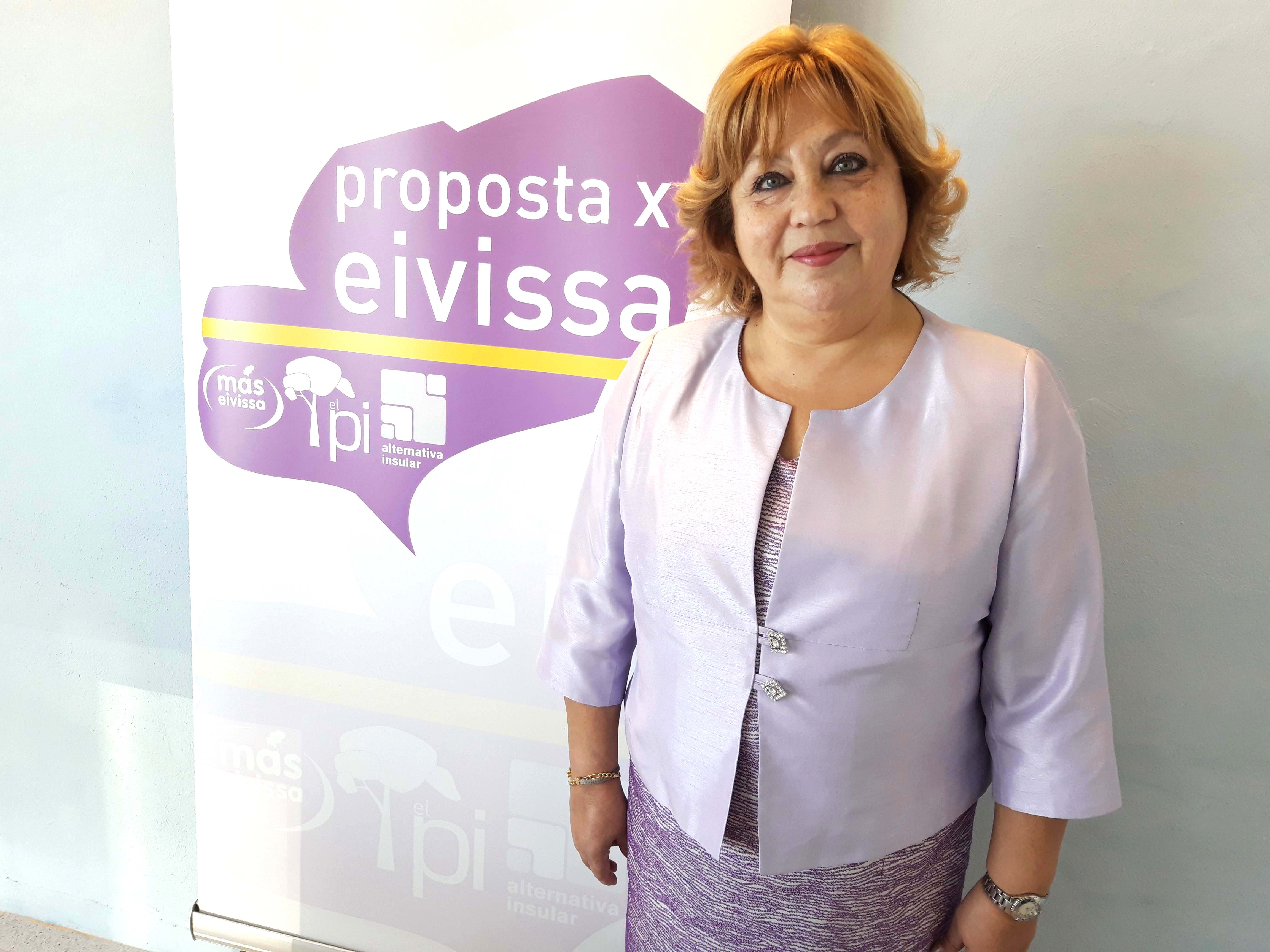 Candidata PxE Consell Encarna Castro