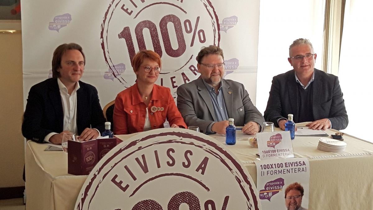 Presentación Candidaturas Proposta x Eivissa al Senado